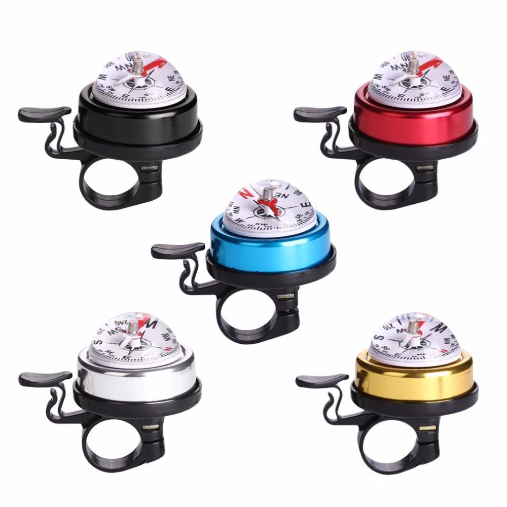 Mountain Bike Bell Horn Metal Plastic Cycling Alarm With Guide