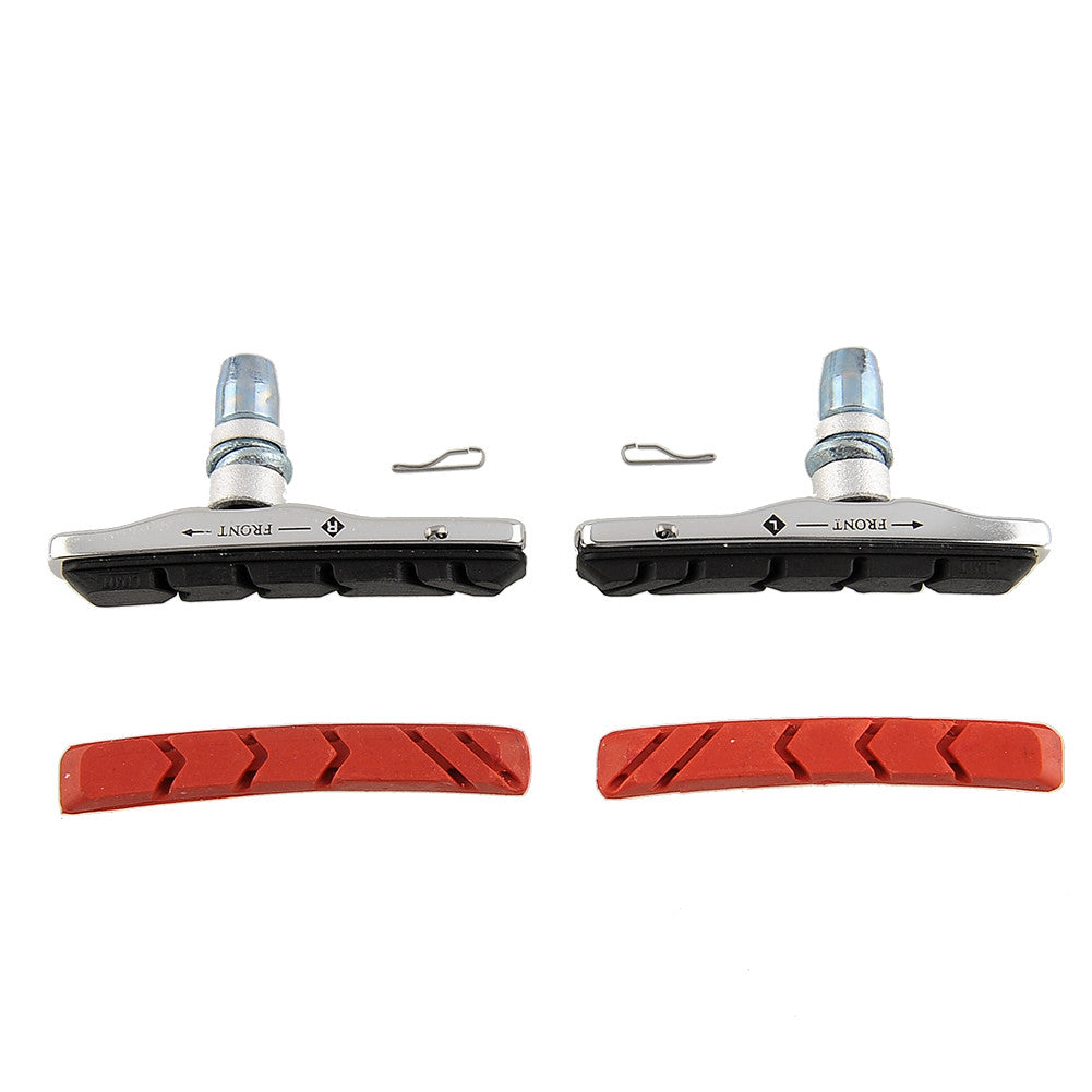 1 Pair New High Quality Universal Rubber V Brake Shoes