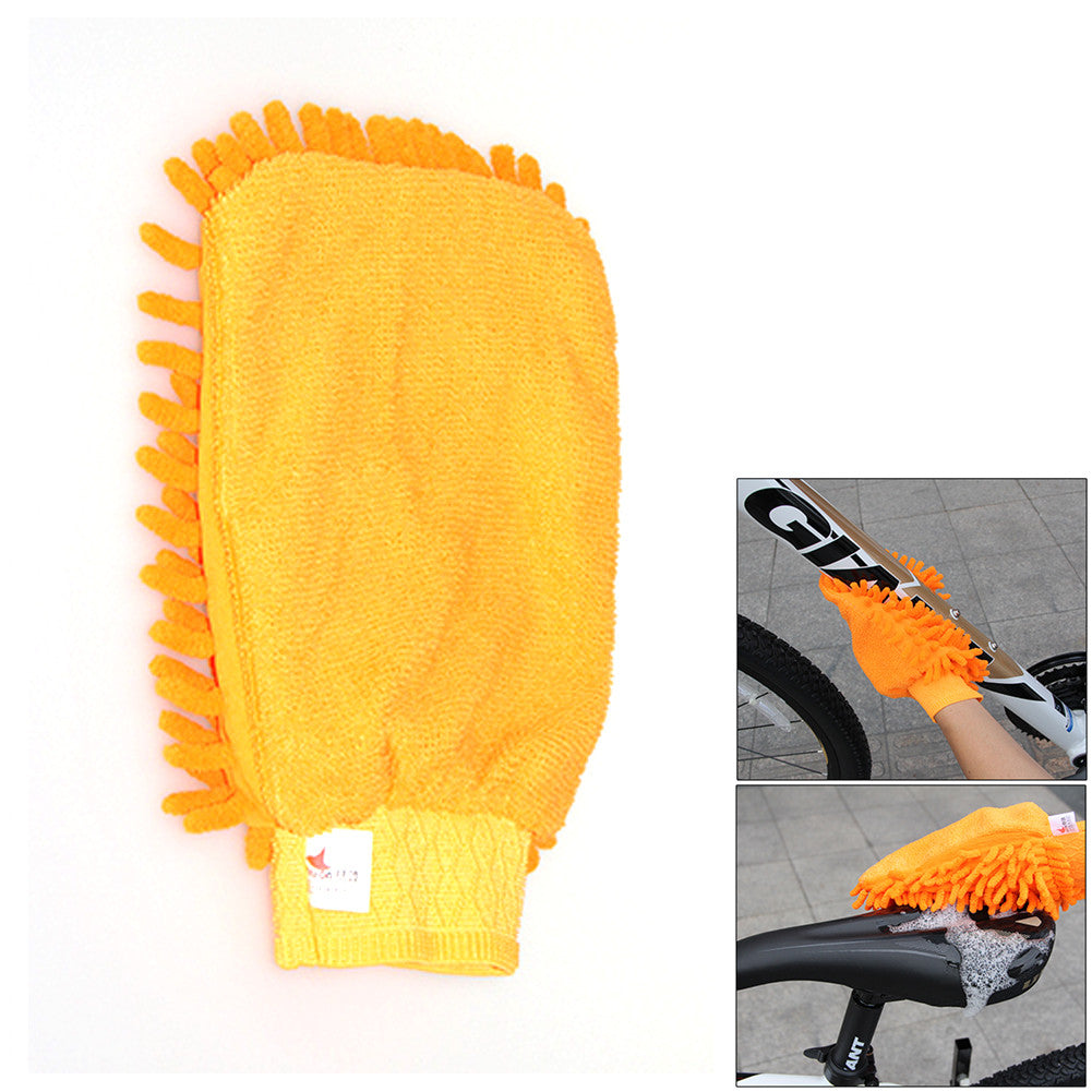 6 pcs Bicycle Chain/Tire Cleaner Tool Kit set for Mountain Road Bikes