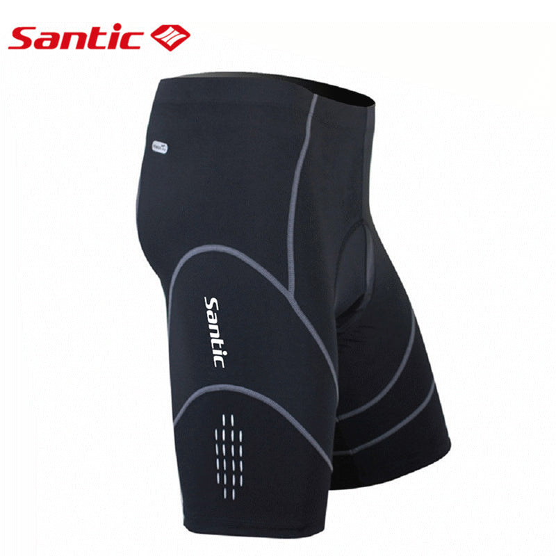 Santic Coolmax 4D Padded Cycling Shorts Shockproof Reflective  Bermuda  S-XXXL  MC05034