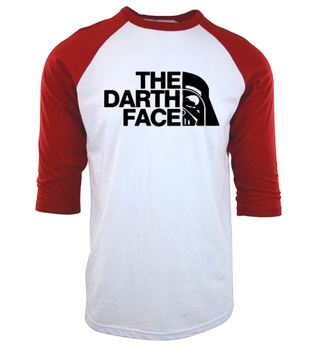 The Darth Face Baseball Tee
