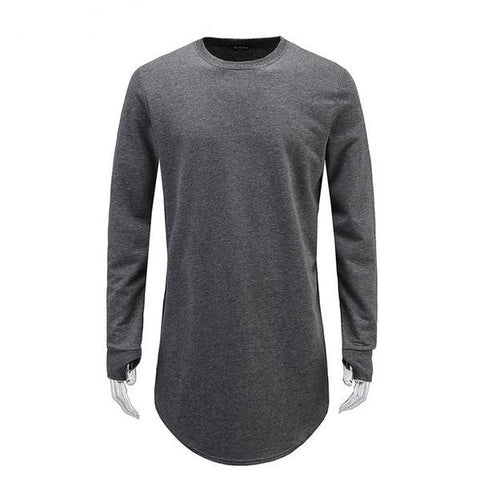 Long Sleeve T-Shirt With Thumb Hole - Dollar Store