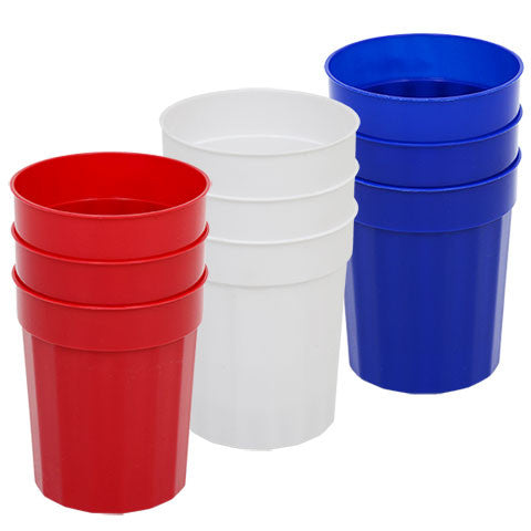 24.5-oz. Plastic Tumblers, 3-ct. Packs - Dollar Store