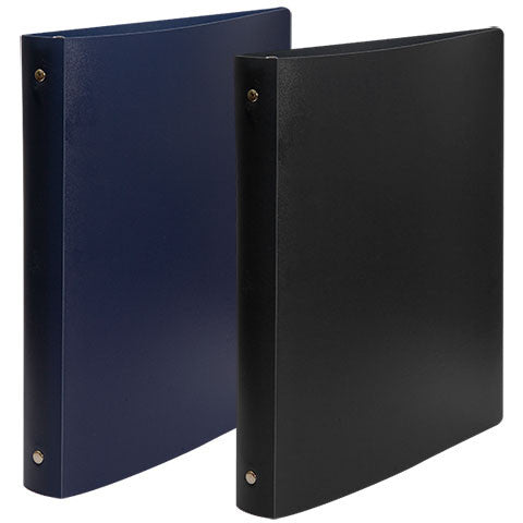 3-Ring Binders with Flexible Poly Covers - Dollar Store
