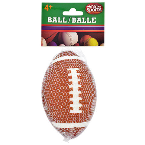 All-Star Sports Mini Foam Footballs - Dollar Store