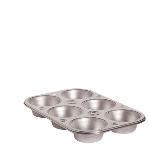 6-Cup Steel Muffin Pans - Dollar Store