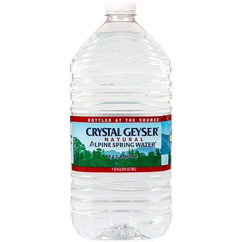 Crystal Geyser Natural Alpine Spring Water, 1-Gallon Jugs - Dollar Store