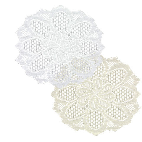 Decorative Round Polyester Doilies, 2-ct. Packs - Dollar Store