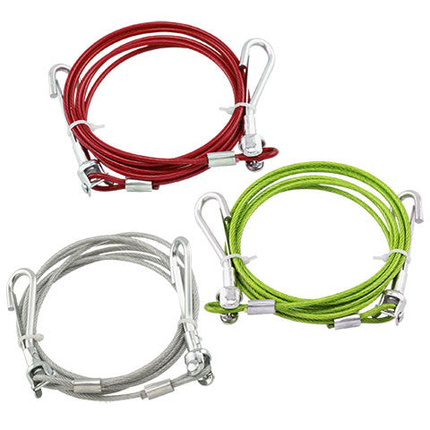 Dog Tie-Out Cables, 6-ft. - Dollar Store