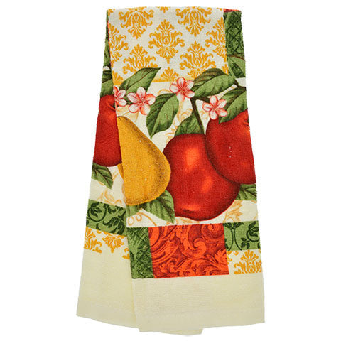 "Fruit-Themed kitchen Towels, 15x25"" - Dollar Store"