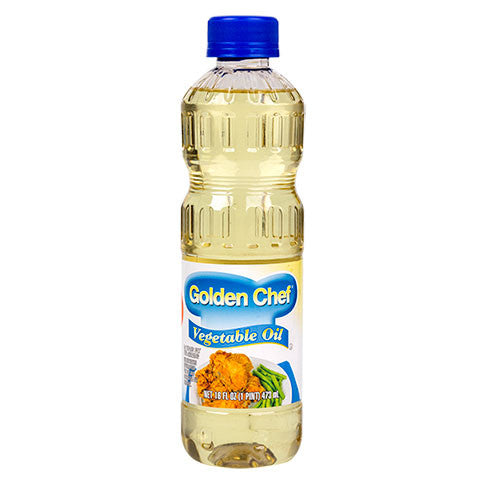 Golden Chef Vegetable Oil, 16-oz. Bottles - Dollar Store