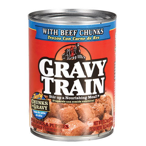 Gravy Train Dog Food with Chicken Chunks in Gravy - Dollar Store