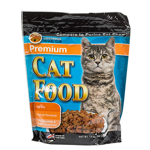 Greenbrier Kennel Club Premium Dry Cat Food - Dollar Store