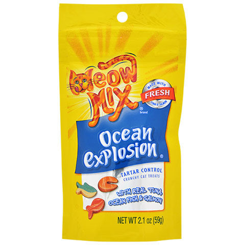 Meow Mix Ocean Explosion Cat Treats - Dollar Store