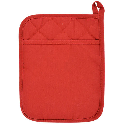 Red Cotton/Neoprene Pot Holders - Dollar Store