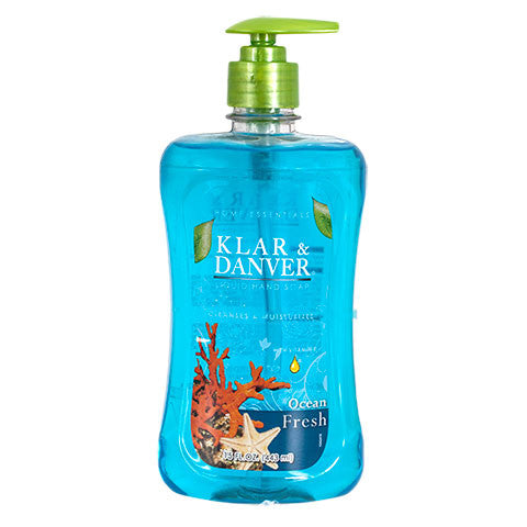 Ocean Fresh Liquid Hand Soap, 15-oz - Dollar Store