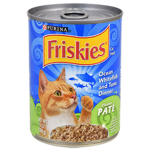 Ocean Whitefish & Tuna Pate Canned Cat Food - Dollar Store