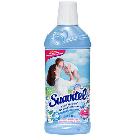 Suavitel Field Flowers Liquid Fabric Softener, 15.2-oz. Bottles - Dollar Store