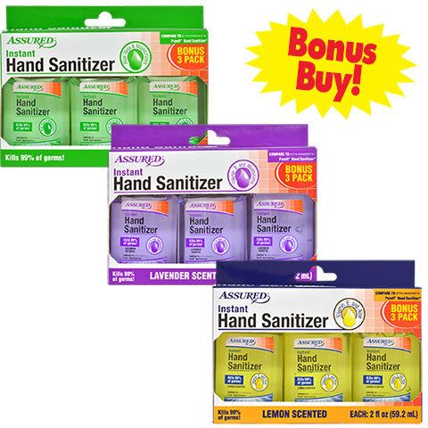 Travel-Size Hand Sanitizers - Dollar Store