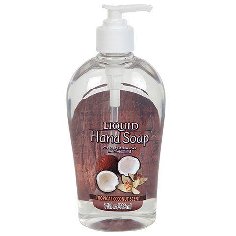 Tropical Coconut Liquid Hand Soap - Dollar Store