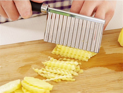1 pc Potato Wavy Edged Knife - Dollar Store