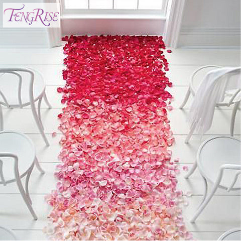 Wedding Events Decoration 500pcs Silk Rose Petals - Dollar Store