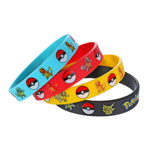 4pcs/set Pokemon Party Bracelet - Dollar Store