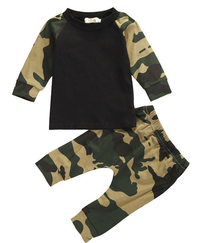 Army Camouflage Baby Boy/Girl Set - Dollar Store