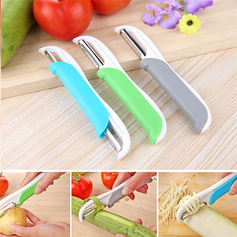 2 in 1  Vegetable +Fruits Slicer - Dollar Store