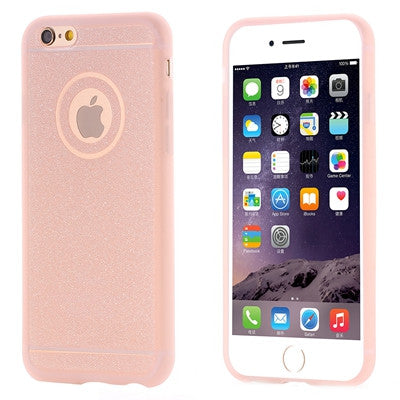 Candy Color Matte Frame + Soft TPU Clear Phone Case For iPhone - Dollar Store