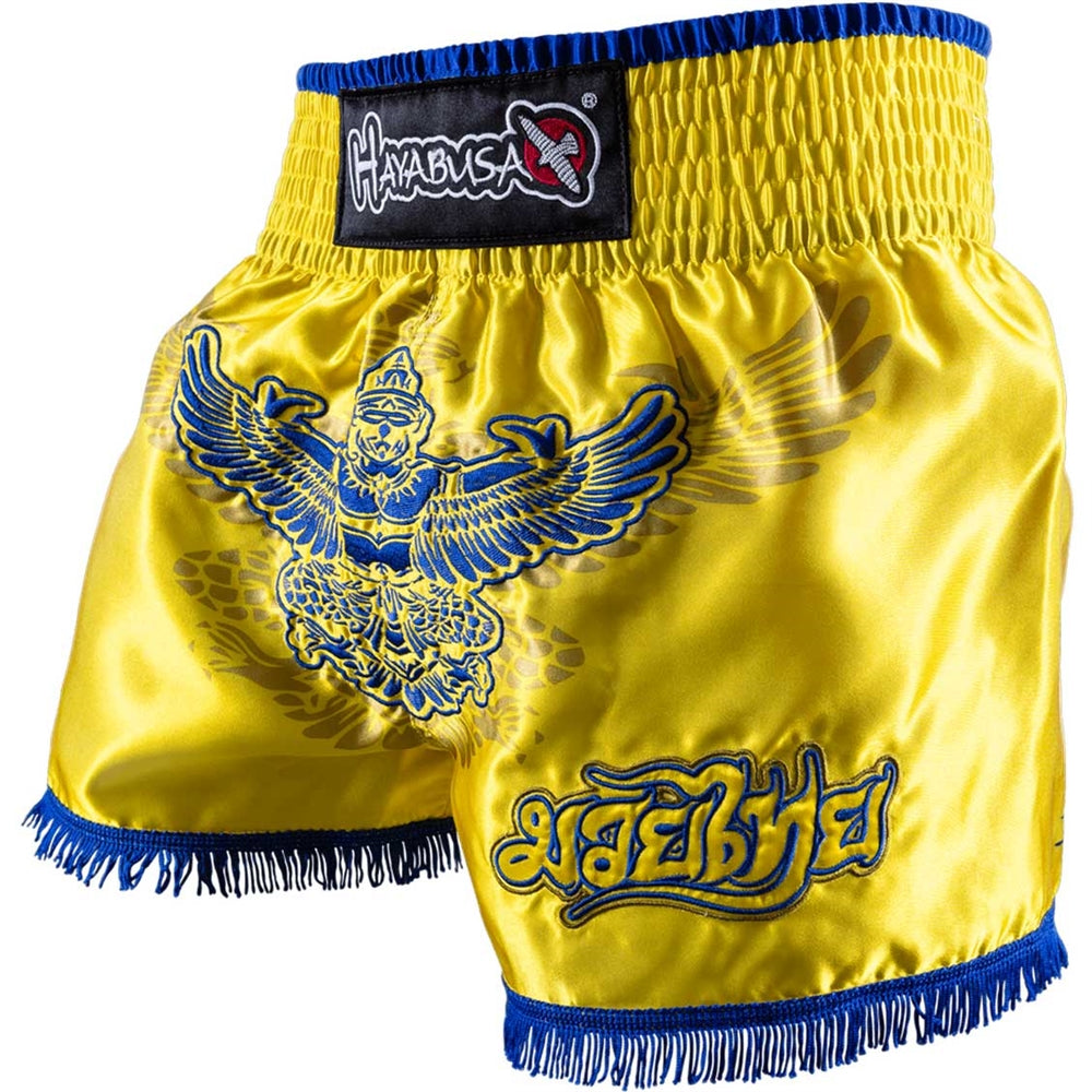 HAYABUSA GARUDA MUAY THAI SHORTS - GOLD - FightFlair