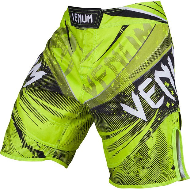"Venum ""Galactic"" Fightshorts – Neo Yellow - FightFlair"