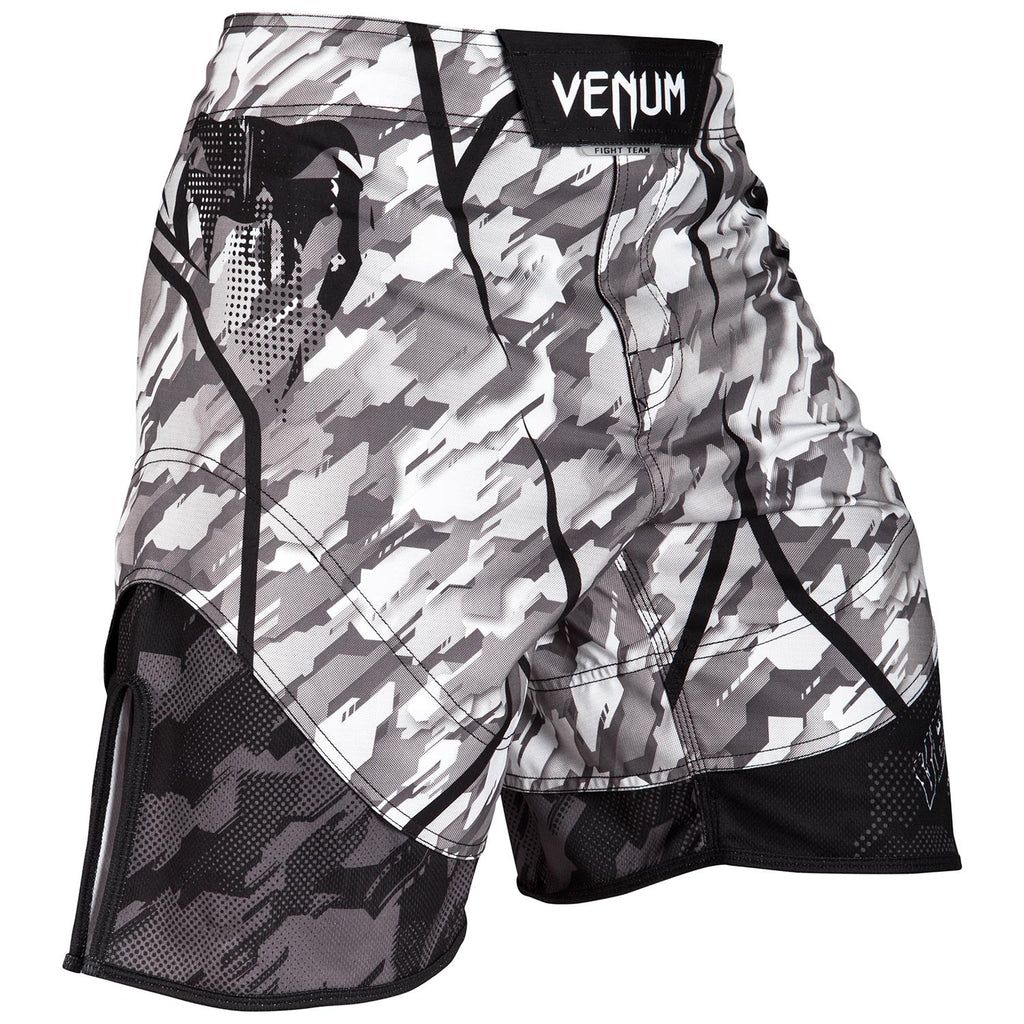 VENUM TECMO FIGHTSHORTS - GRAY/BLACK - FightFlair