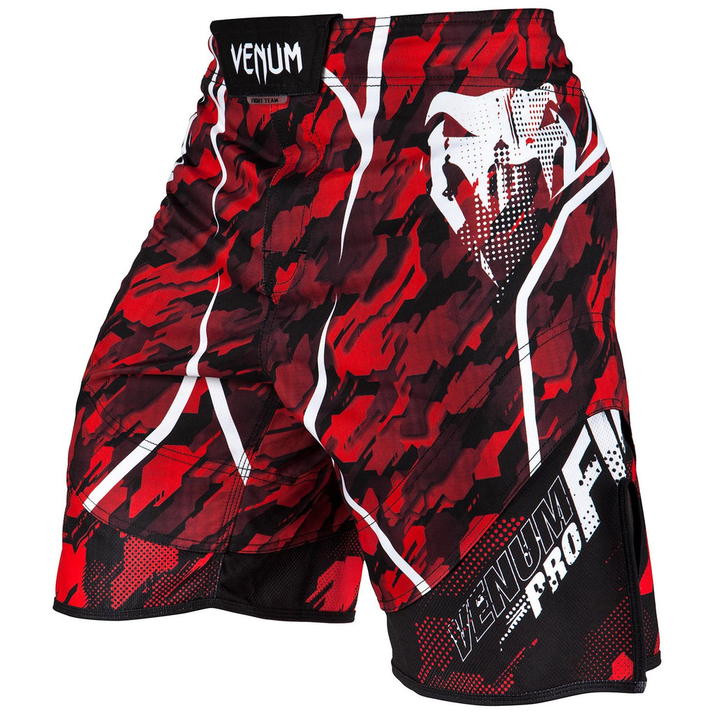 VENUM TECMO FIGHTSHORTS -  RED/BLACK - FightFlair