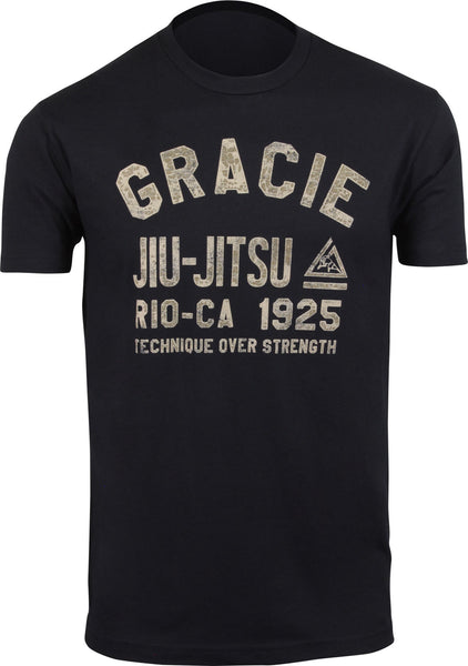 Gracie Jiu Jitsu T-Shirt - FightFlair