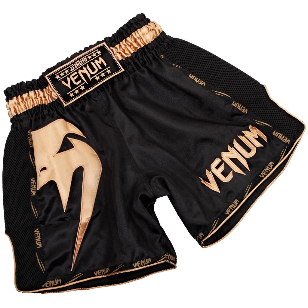 Venum Giant Muay Thai Shorts - Gold - FightFlair