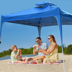 Arcadia Furniture 3M x 3M Outdoor Folding Tent - Navy