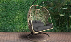 Arcadia Furniture 2 Seater Rocking Egg Chair