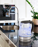 Pursonic 1.7 Litre Blue LED Glass Kettle