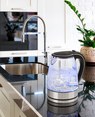 Pursonic Glass Kettle - Blue LED