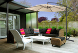 Milano 3 Metre Outdoor Cantilever Umbrella - Various Colours