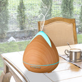 PureSpa Cool Mist Ultrasonic Diffuser With 3 Essential Oils - Various Colours
