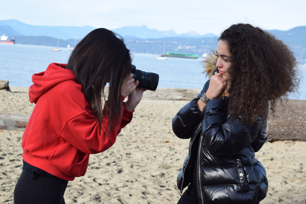 Winter Photo Shoot At Kits Beach