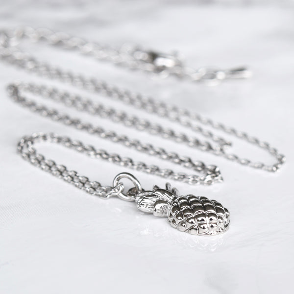 Pineapple Necklace ~ Silver