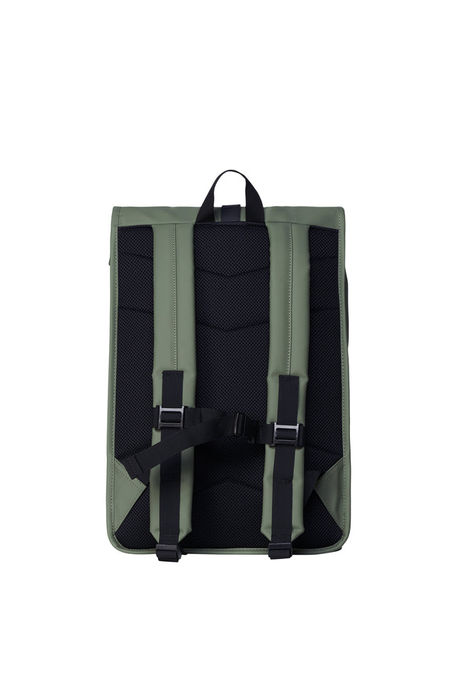 Roll Top Rucksack in Olive