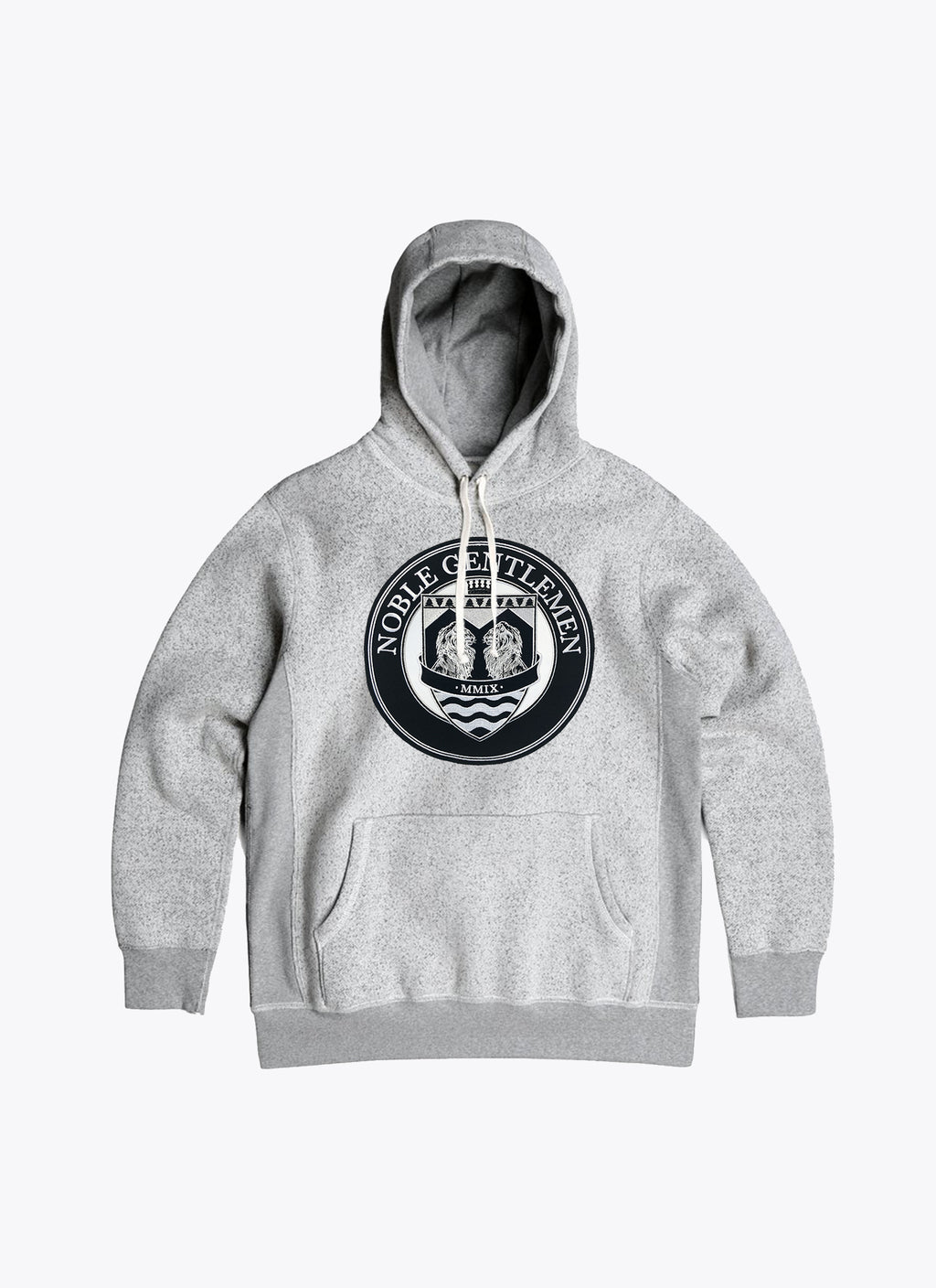 NGT Crest Hoody - Heather Grey