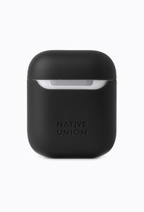 Airpods Marquetry Case - Black