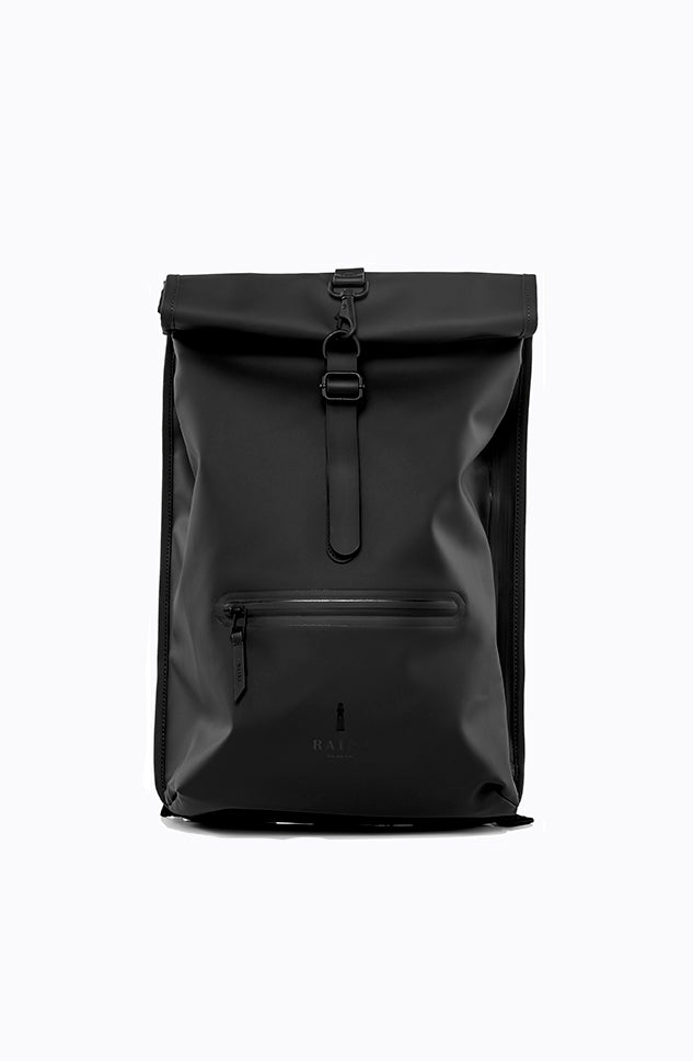 Roll Top Rucksack - Black