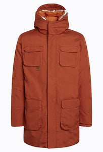 ARCTIC Canvas Parka Jacket - Rust