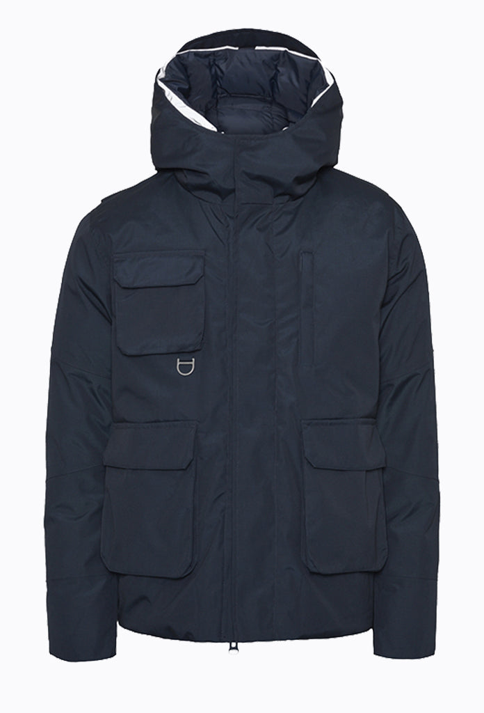 ARCTIC Canvas Short Parka Jacket - Total Eclipse